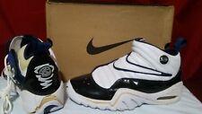 VTG OG 1997 Nike Air Shake Ndestrukt SC White Navy Patent Leather Rodman w/Box