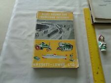 Bassett Lowke model railway and engineering catalogue - yellow picture cover