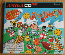 Cd32 Pierre le Chef is... Out to Lunch (Amiga, 1994, Jewel-Case)