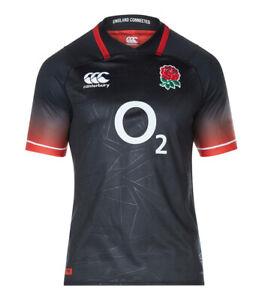 Geniune England Alternate Mens Pro Rugby Jersey