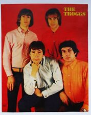 THE TROGGS RARE  CUTTING CLIPPING PIN UP POSTER