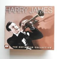 Harry James: The Definitive Collection 4 CD Box set  Santuary Records Sinatra ++