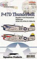 ms481236/ Decals - P-47D Thunderbolt - 395th & 397th FS / 368th FG - 1/48