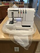 Husqvarna  Viking Sewing Machine with storage case with wheels