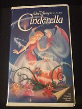 Cinderella VHS - 1988 Black Diamond Classic #410 - RARE Red signature & Hologram