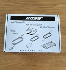 Bose Wave Music System Connect Kit for iPod Docking Station NEW IN BOX