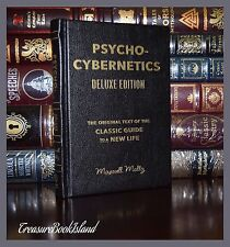 Psycho-Cybernetics by Maxwell Maltz New Life New Sealed Deluxe Hardcover Gift