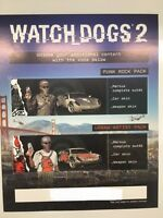 Watch Dogs 2 SAN FRANCISCO EDIZIONE PER COLLEZIONISTI PS4 punk street TEMA