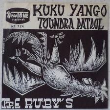 "The RUBY'S Toundra patrol (LISTEN) RARE 7"" 1962 instr rock NewTone BELGIUM"