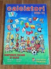 Album sticker PANINI CALCIATORI 1978 79 COMPLETE football italia figurine inter