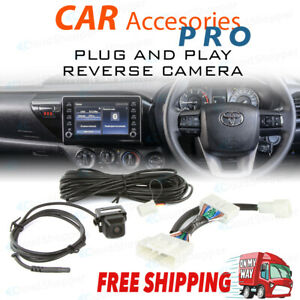 Reverse Camera Kit To Suit Factory Screen of Toyota Hilux 2020 to 2021 SR Workma