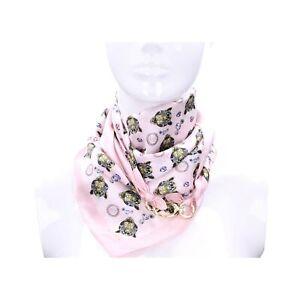 Guess Foulard Soie Femme Rose Multi Aw8673sil03