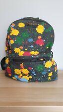 Dr Martens Canvas Rucksack Bag Paint Splatter