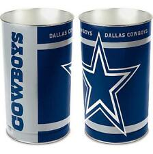 Dallas Cowboys Recycle Bin Dustbin, Wastebasket, Trash Can, NFL Football