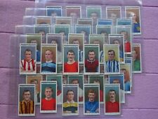 More details for complete set - ogdens 1908 - famous footballers ( billy meredith fatty foulke