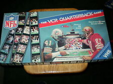 Vintage - NFL Licensed VCR Quarterback Football Game - Very Good Condition