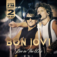 Bon Jovi : Live in the 80's CD 2 discs (2019) ***NEW*** FREE Shipping, Save £s
