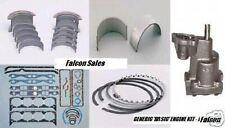 Pontiac 455 engine kit rings bearings gaskets oil pump