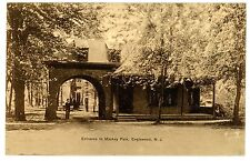 Englewood NJ - ENTRANCE TO MACKAY PARK - Postcard