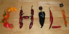 Chilli-Paket 12 Sorten einzeln verpackt Chili-Samen von mild bis superscharf