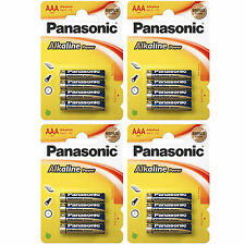 32x AAA Alkaline Power PANASONIC- LR03 Micro LR3 - BATTERIEN - 1,5 Volt * Size S