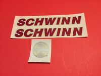 Schwinn Le Tour Red/Grey Bicycle Road Bike Decals Set NOS