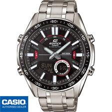 49385dfeddb9 Casio Edifice EFV-C100D-1AVEF 44mm Caja Acero Inoxidable Correa Plata Reloj  para Hombre