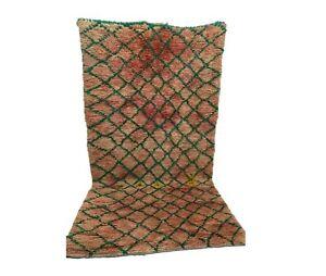 Moroccan rug 5x9ft. Berber vintage rug, Morocco azilal rug Handmade Wool carpet