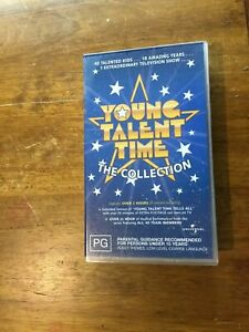 YOUNG TALENT TIME  VHS VIDEO PAL~ A RARE FIND~