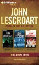 John Lescroart Dismas Hardy Series 1-3 Dead Irish The Vig Hard Evidence CD