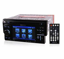 "SOUNDSTREAM VR-450 4.5"" TOUCHSCREEN DVD CD MP3 USB 32GB SD CAR STEREO PLAYER"