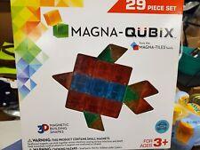 Magna-Qubix 3D Magnetic Building Shapes (29 Pieces),ages 3+,from Magna Tiles