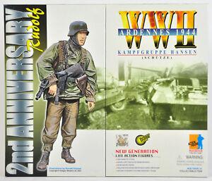 WWII ARDENNES 2ND ANNIVERSARY RUDOLF DRAGON ACTION FIGURE GERMAN 70080 NEW NIB