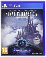 FINAL FANTASY XIV ONLINE THE COMPLETE EXPERIENCE NUEVO PRECINTADO PS4