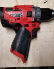 Milwaukee 2504-20 M12 FUEL 12-Volt Brushless 1/2 In Hammer Drill Tool-Only Gen 2