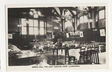 Dining Hall, The Lady Forester Home, Llandudno RP Postcard, B368