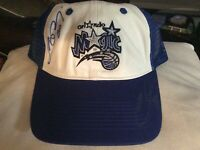 Vtg Orlando Magic Mesh Snapback Hat 1990s  NBA Basketball White/Blue Cap OSFA