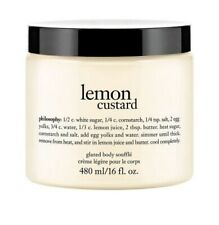 Philosophy Lemon Custard Glazed Body Souffle 16 fl oz NEW