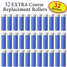 32 X Extra Coarse Micro Mineral Emjoi Micro-Pedi Compatible Replacement Rollers
