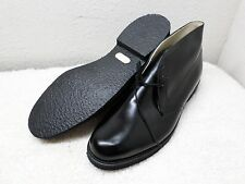THOROGOOD MENS SHOES SZ 12 BLACK LEATHER ANKLE CHUKKA BOOT NITRO CREPE USA MINT