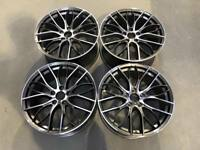 "20"" 405M Performance Style Wheels Gun Metal Machined BMW E90 E91 E92 E93 5x120"