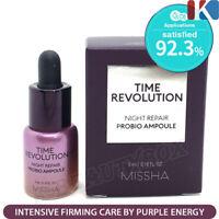 MISSHA Time Revolution Night Repair Probio Ampoule 5ml / Korean Best Skin Care