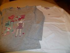 "LOT DE 2 T SHIRTS ML 6ANS  ""LISA ROSE  ET ORCHESTRA "" TTBE"