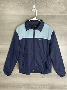 Flylow Gear Men's Size Medium Swindler Insulated Full Zip Jacket Blue