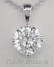 Excellent VS1 Fine Diamond Necklaces & Pendants