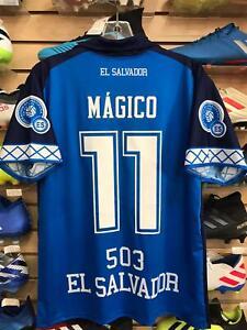 Camisa de El Salvador Azul MAGICO 11/ El Salvador Home Soccer Jersey