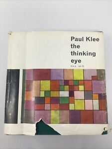 PAUL KLEE: THE THINKING EYE, HC, 1964 Revised 2nd Edition