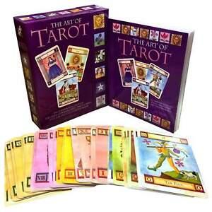 The Art of Tarot Deck Cards Collection Box Set Mind Body Spirit Psychic Book