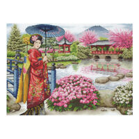 ANCHOR | Counted Cross Stitch Kit Maia Collection: Japanese Garden |56780001024