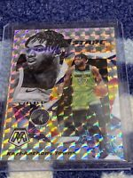 KARL-ANTHONY TOWNS 2019-20 Mosaic STARE MASTERS SILVER MOSAIC PRIZM Panini